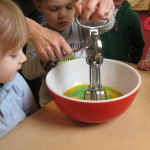 Making green eggs