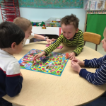A spirited game of Candy Land!