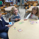 Playing a number matching game
