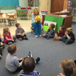 Visit from the dental hygienist!